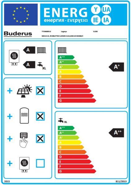Trinkwasser Solar-Heizsystem Buderus Logano plus GB 212 Solar Trinkwasser