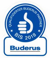 Qualifizierter Buderus Partner bis 2018