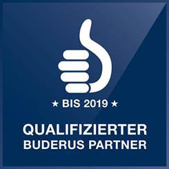 Qualifizierter Buderus Partner bis 2019