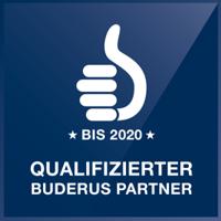 Qualifizierter Buderus Partner bis 2020