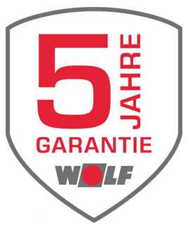 5 Jahre Systemgarantie Wolf